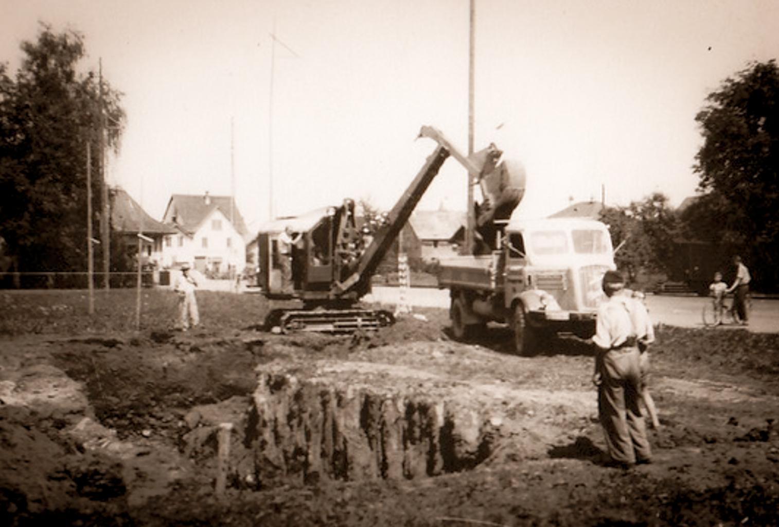1954 Geschäftshausbau