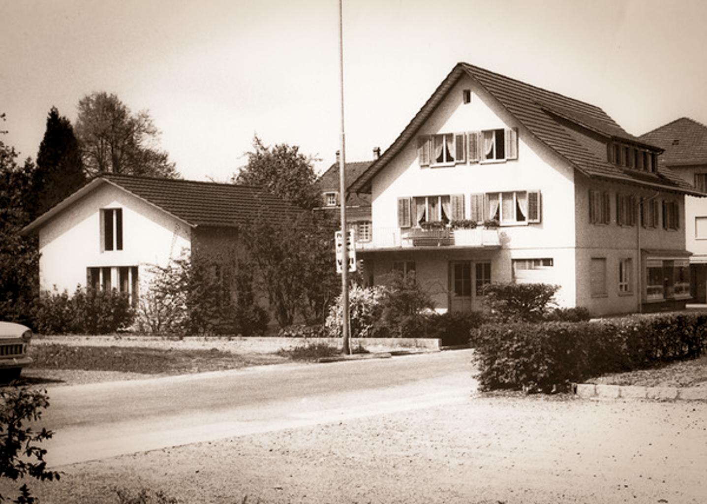 1964 Lagerhausbau